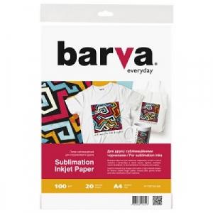Сублімаційний папір A4, 20 аркушів BARVA (IP-TSE100-326)