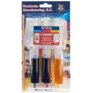 набор wwm carmen для заправки  картриджей canon (3 x 20мл) color (ir3.carmen/c) WWM IR3.CARMEN/C
