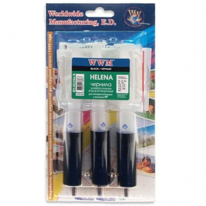 заправочный набор wwm helena для hp 3 x 20мл black, ir3.helena/b WWM IR3.HELENA/B