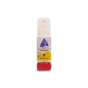 Чорнила світлостійкі INKSYSTEM для Epson, Yellow 70мл (Безконтактні)