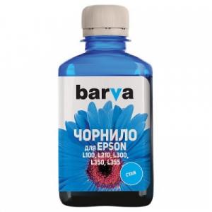 Чернила Barva для Epson L аналог 664, 180г Cyan (L100-401)