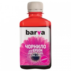 Чернила Barva для Epson L аналог 664, 180г Magenta (L100-403)