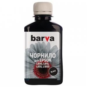 Чернила Barva для Epson L800, L805, L810, L850, L1800 Black 180г (L800-409)