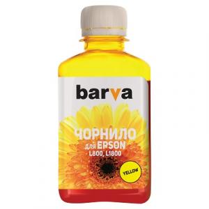 Чернила Barva для Epson L800, L805, L810, L850, L1800 Yellow 180г (L800-415)