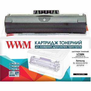 Картридж лазерний для Samsung SLM2020, SL2070, SL2070FW сумісний mlT-D111S Black, WWM (LC58N)