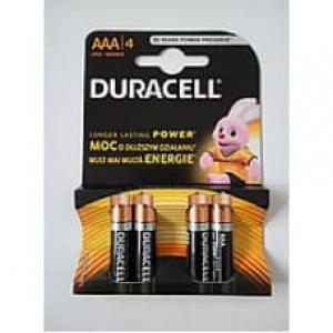 Батарейка Duracell LR03 AAА, в упаковці 1x4шт.