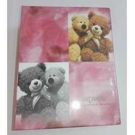 Фотоальбом 10x15 на 100 фотографий, MM46100 SWEET BEAR-1