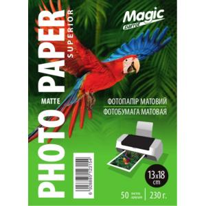 Фотопапір матовий 13x18, Magic 200g, 50 аркушів