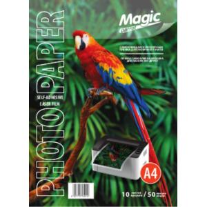 Плівка прозора Magic А4 самоклеюча 50 мкм, 10арк, для лазерного друку