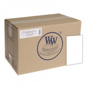 Самоклеящаяся бумага WWM для струйной печати, глянцевая 130 g/m2,  А4, 1000л