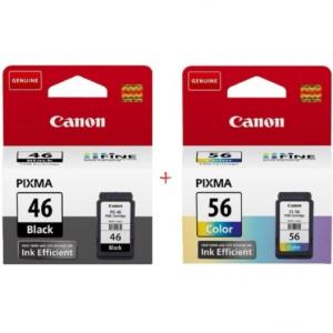 Картриджи струйные Canon PG-46 Black, CL-56 Color