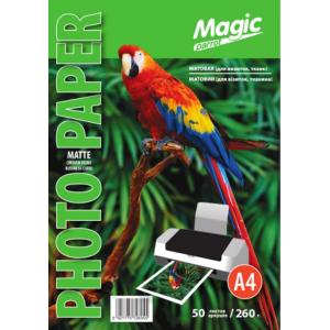 Фотобумага для визиток матовая (ткань) 260 г /м², 50 листов