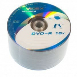 диски dvd-r 4.7gb 16x bulk 100шт Videx 20931-2