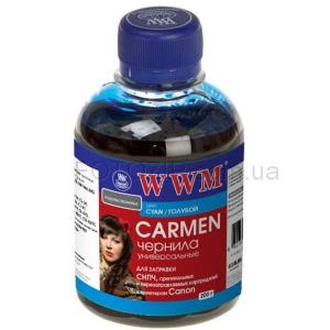 чернила wwm canon carmen cyan, cu/c, 200 г WWM CU/C