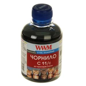 чернила wwm canon cl511, 513, cli521c, cli426c (cyan) c11/c, 200 г WWM C11/C