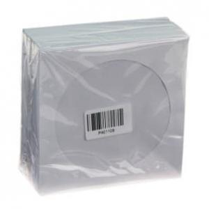 конверт с окошком, для cd/dvd-дисков (100 шт)  konvbum-100