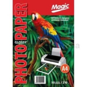 фотобумага мagic a4 глянцевая 210г/м, 100лис Magic GL210A4/50p2