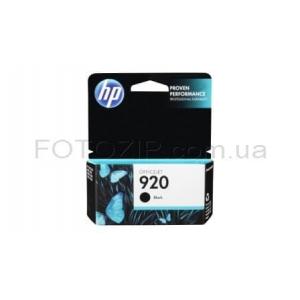 картридж hp oj 6500 (cd971ae) №920 black, 10 ml HP CD971AE