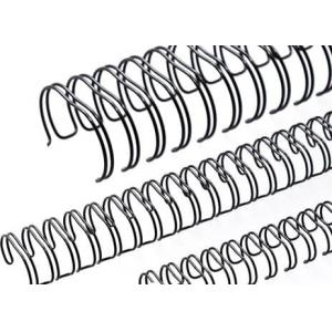 Пружина металлическая черная  d.12,7 - 34 петли, 64 шт