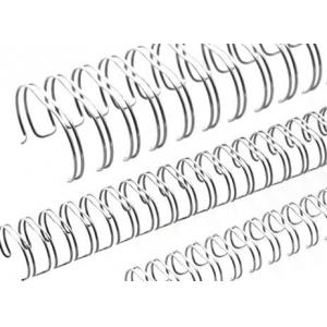 Пружина металева срібна d.12,7 - 34 петлі, 100шт