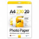 Фотобумага Videx двухсторонняя глянцевая-матовая А4 230г/п, 20л