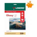 Фотопапір Lomond глянцевий 230 г/м, А4, 50лис. Код 0102022