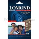 Фотобумага Lomond 260 г/м, полуглянцевая, А4, 20лис. Код 1103301