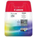 Картридж струйный Canon для Pixma PG-40, CL-41 (0615B043) Multipack