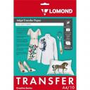 Термотрасфер Lomond для струйных принтеров для светлых тканей, А4, 5л. Код 0808411