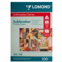Сублимационная бумага Lomond, А3, 100 г, 50 л.