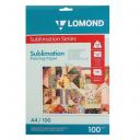 Сублимационная бумага Lomond, А4, 100 г/п, 100 л.