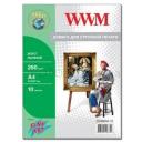 Холст WWM натуральный хлопковый Fine Art, 260g, m2, A4, 10л (CC260A4.10)