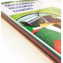 Обложки для переплета-картонные, А4 230г/м, 100шт под кожу, ассорти (5цв.в 1уп)