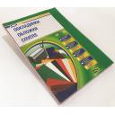 Обложки прозрачные зеленые А4, 180 мкм , 100шт