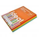 Папір кольоровий А4 80 г/м 250л, набір Colour MIX по 5 кольорів