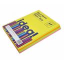 Бумага цветная набор А4 80 г/м 200л Neon Colour MIX