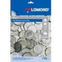 Самоклеящаяся плёнка Lomond для лазерной печати, серебряная, A4, 10л, 1703472