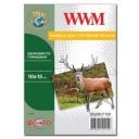 Фотобумага WWM, шелковисто глянцевая 260g, m2, 100х150 мм, 100л (SG260.F100)