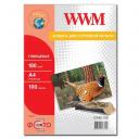 Фотобумага WWM, глянцевая 180g, m2, A4, 100л (G180.100)