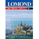 Пленка Lomond для для цветной струйной печати, А4 100мкм, 50лис. Код 0708415