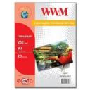 Фотобумага WWM, глянцевая 260g, m2, A4, 20л NEW (G260N.20, C)