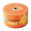 Диски Videx DVD-R 4.7Gb 16x bulk в упаковці 50шт
