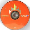 Диски Videx DVD-R 4.7Gb 16x bulk в упаковці 10шт