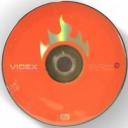 Диски Videx DVD+R 4.7Gb 16x bulk 10шт в упаковці