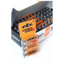 Батарейки солевые Videx R6, AA 60 штук