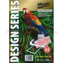 Дизайнерская фотобумага Мagic А4, двухсторонняя МЕДНЫЙ  Перламутр  250 г /м²,50л