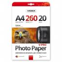 Фотобумага Videx сатин А4, 260г, 20 листов (PPLA4 260/20 )