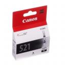 Картридж Canon CLI-521Bk (Black) (2933B004)