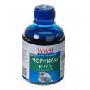 Чернила wwm (200 г) HP C8719, С8721, С5016 (Cyan) H77/C