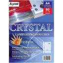 Пленка для ламинации глянцевая Crystal А4, 80мкм, 100 шт ANTISTATIC